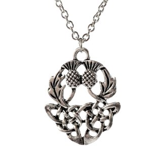 Celtic Thistle Pendant