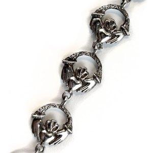 Sterling Claddagh Bracelet