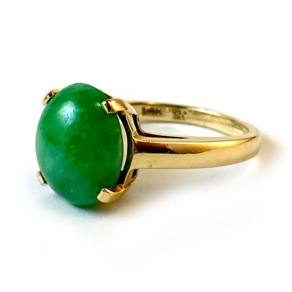 Estate Jade Ring