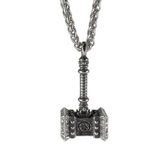 Mjölnir Hammer Necklace