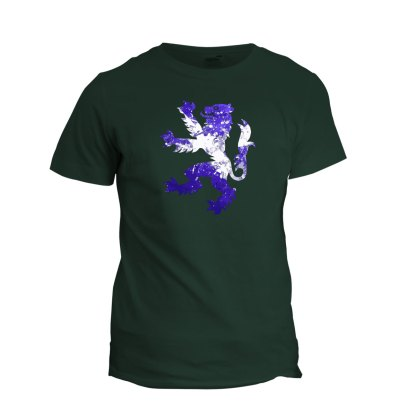 Rampant Lion Tee (forest green)