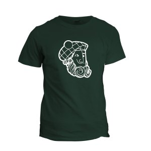 Scotty Mono Tee (forest green)