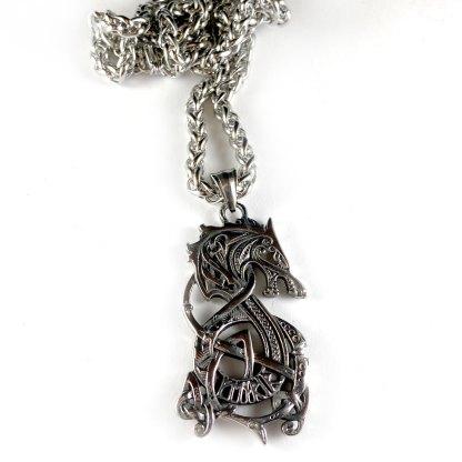 Viking Wolf Necklace