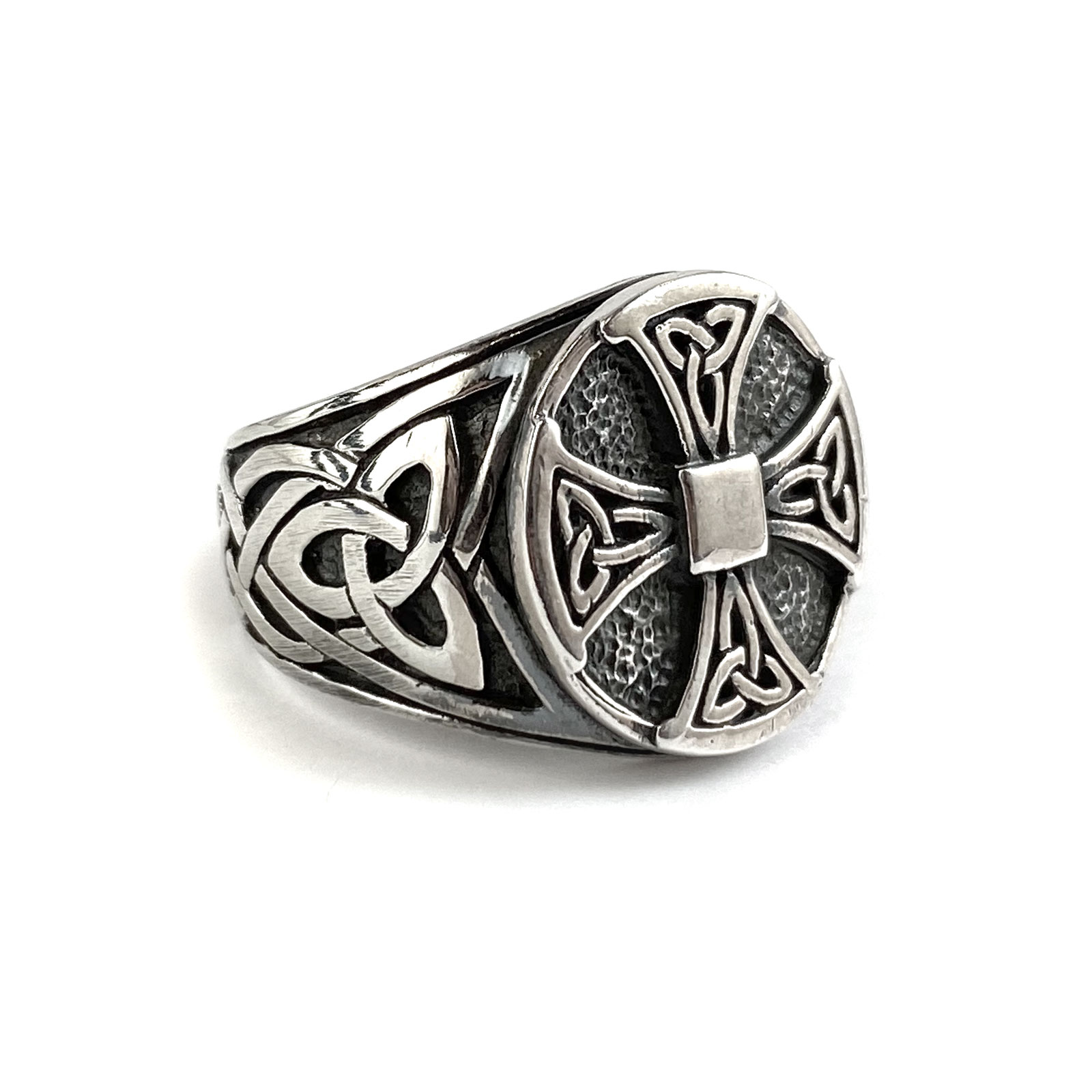 Canterbury Cross Sterling Ring