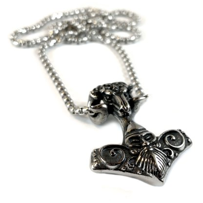 Ram's Head Hammer Necklace