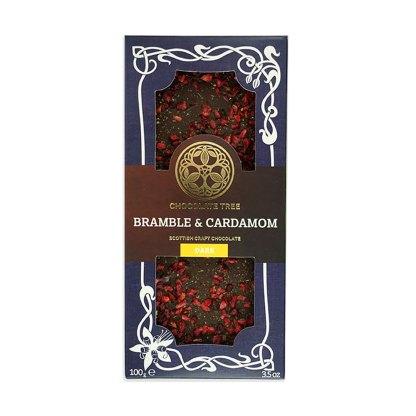 Bramble & Cardamom Chocolate Bar