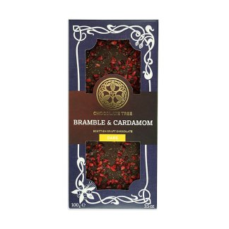Bramble & Cardamom Chocolate Bar