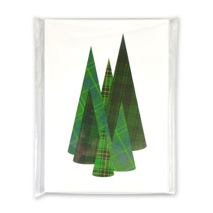 Tartan Forest Holiday Cards