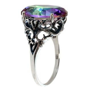Iris Ring in Sterling