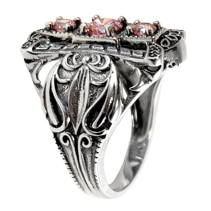 Rosamund Ring in Sterling