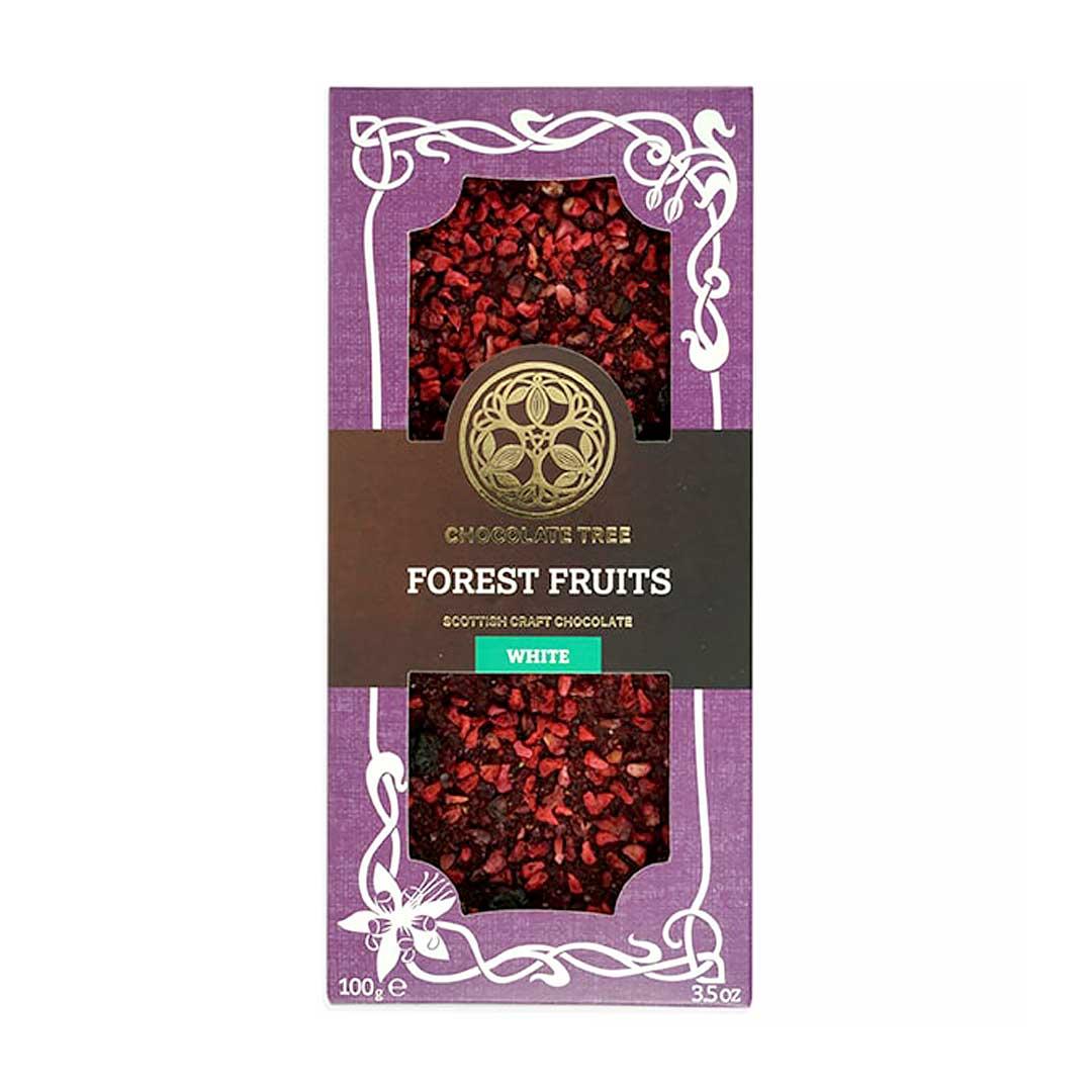Forest Fruits Artisan Chocolate Bar