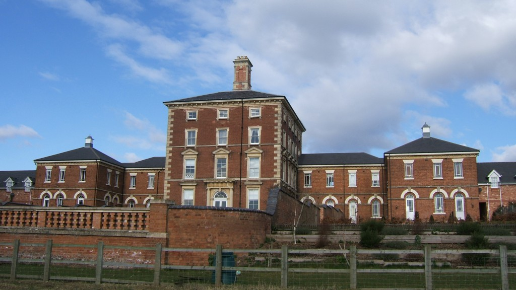 The Construction And Development History Of A Hospital Powick Hospital Worcester County Asylums