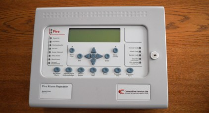 Fire Alarm Control Panel banner