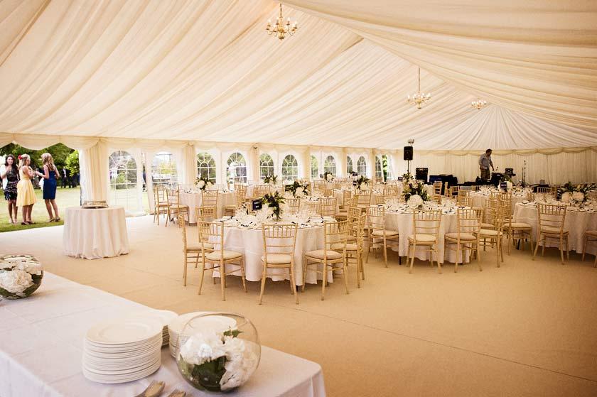 Marquee Wedding Reception Case Study