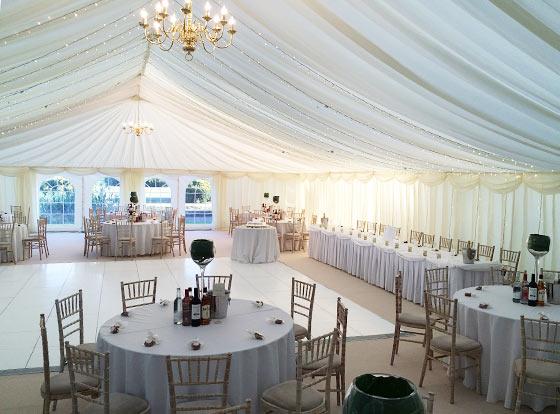 Wedding Reception Marquee  Marquee Hire Brickendonbury Hertfordshire