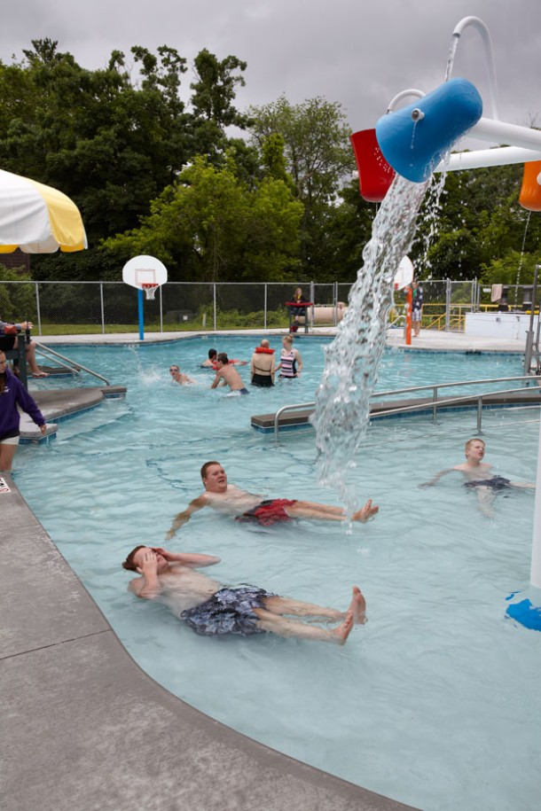 County Materials Donation Helps Build Pool For Easter