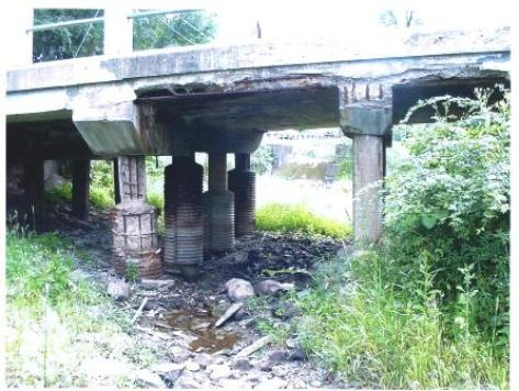 photo of bridge in need of repair