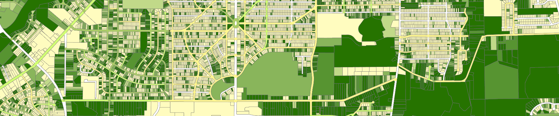 sample of urban tree canopy map