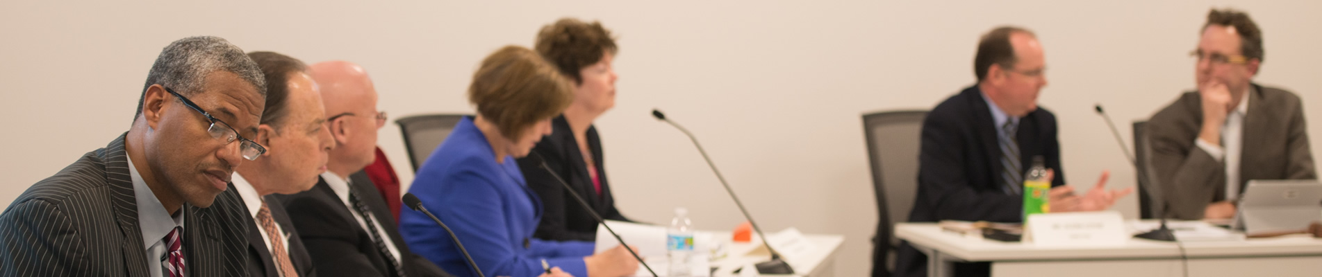 photo of Planning Commission board members