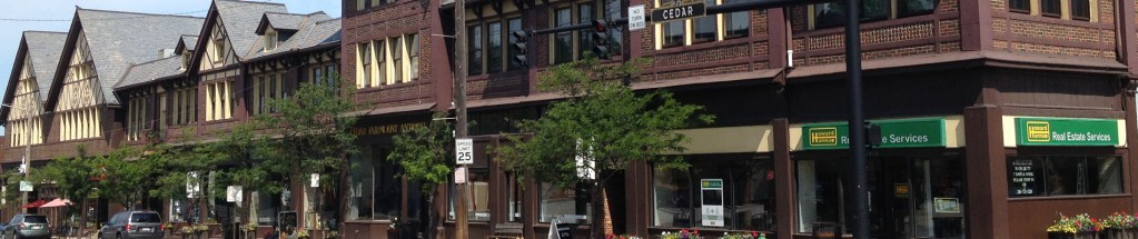 Photo of Cedar-Fairmount storefronts