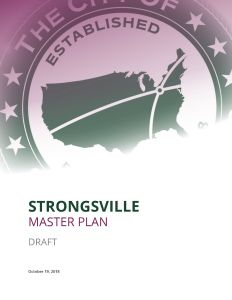 Cover of the draft master plan