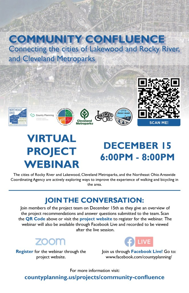Community Confluence Virtual Project Webinar: December 15, 6:00-8:00 p.m.