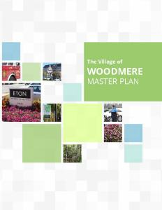 cover of the Woodmere Master Plan