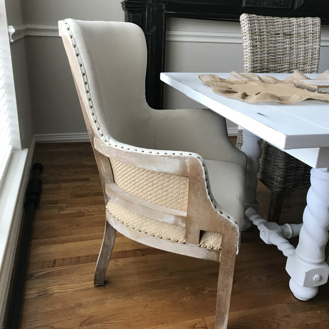 kirklands dining chairs back massager for chair a modern farmhouse room county