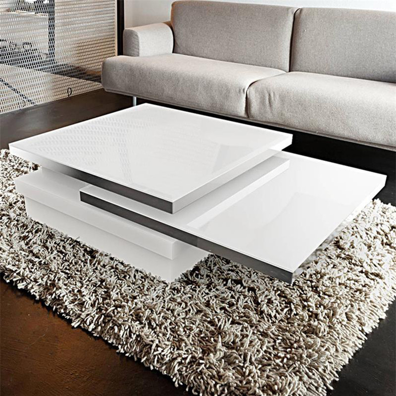 table basse blanche modulable design sur cdc design