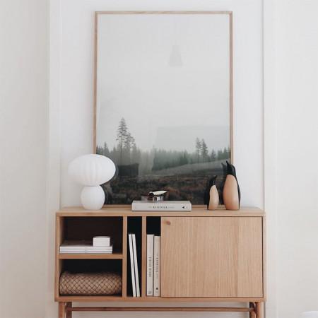 meuble d entree en bois design scandinave sine reference cd bh64a