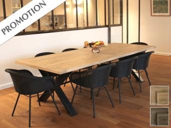 tables de repas chene massif