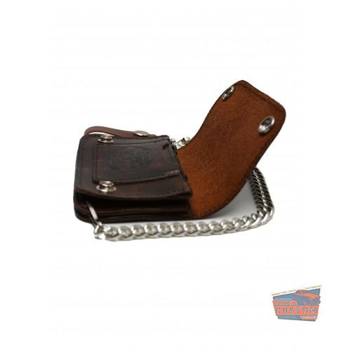 The OLD SPEED Embossed Wallet