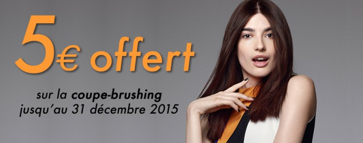 Offre Coupe Brushing December 2015
