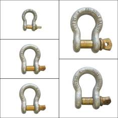rated bow shackles