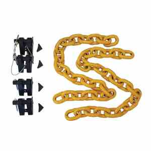 13mm Truck Trailer Safety Chain Holder Kit