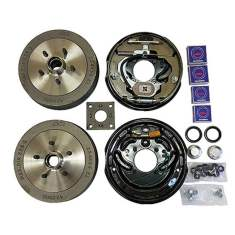 electric brake conversion kit unbraked caravans