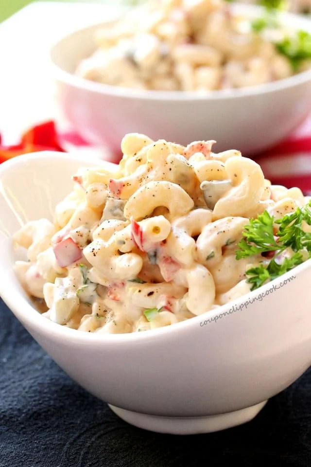 · cook macaroni according to package instructions using the remaining water. Homestyle Elbow Macaroni Salad   Coupon Clipping Cook®