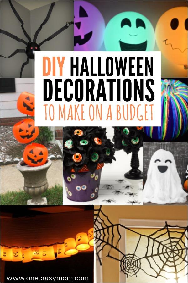 Diy Halloween Decoration Ideas 25 Budget Friendly Ideas