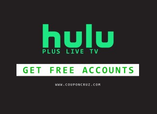 hulu plus free accounts online