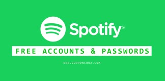spotify premium accounts free online