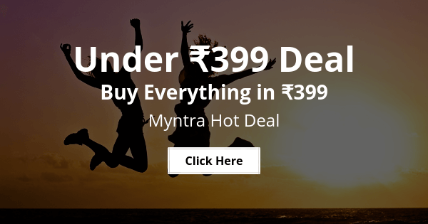 myntra hot deal