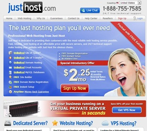 JustHost free coupon offer discount