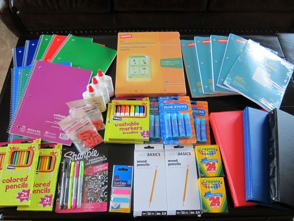 School Shopping Trip - 78 Savings School Supplies Couponing 101