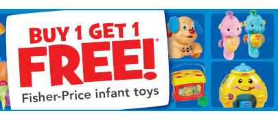 B1G1 Free Fisher-Price Toys Sale