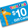 Toys R Us Coupon 10 Gift Card With 50 Purchase