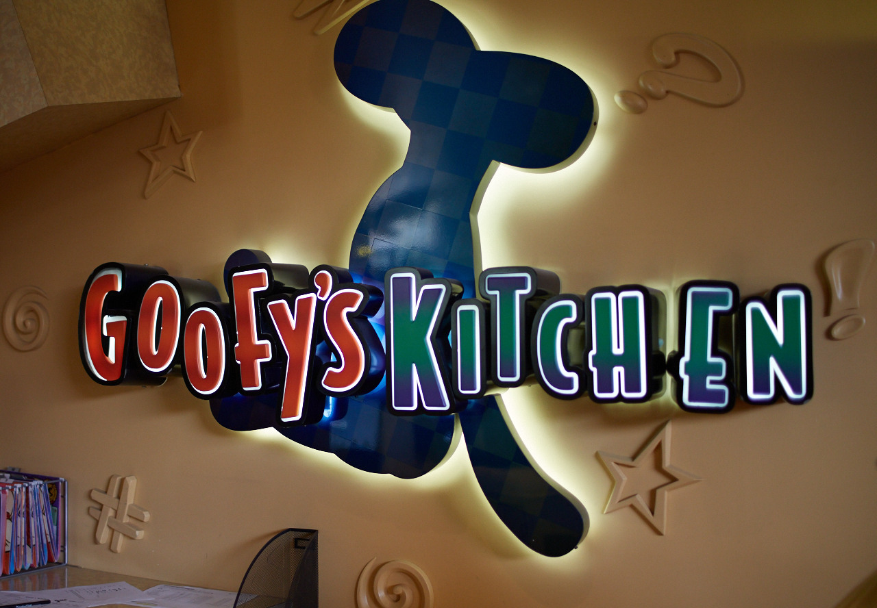 Goofys Kitchen at Disneyland