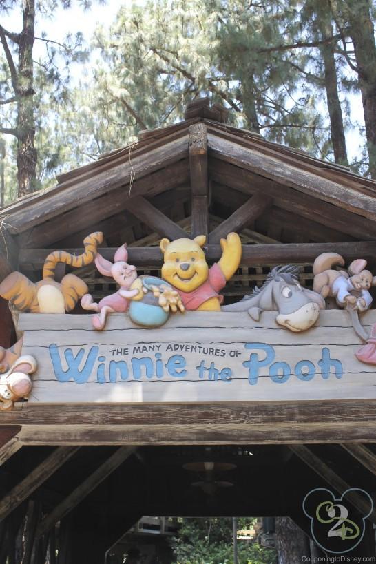 Winnie Pooh Ride Disneyland
