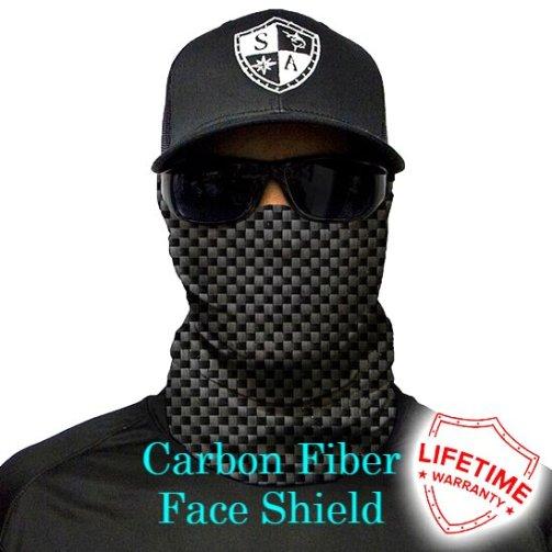 Carbon Fiber SA Face Shield
