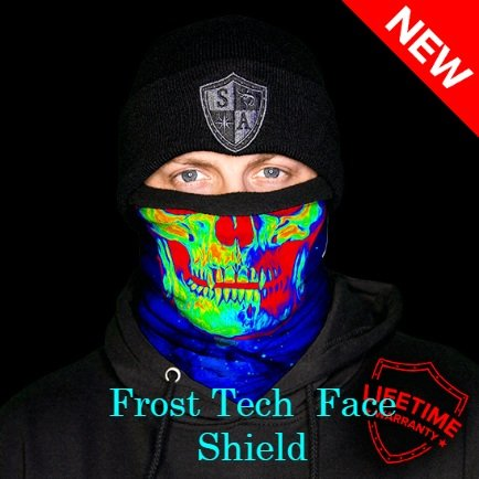 Frost Tech Galaxy Fleece Lined Face Shield