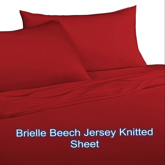Brielle Beech Jersey Knitted Sheet
